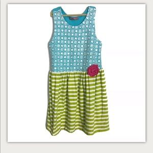 Jelly the Pug Dress Girls Size 12 Sun Kissed